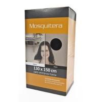 Kit  2 Telas Mosquiteras para Ventana - Color Negro
