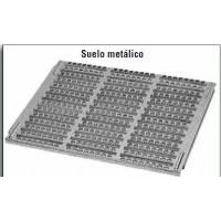 Suelo Metálico.  61* 50 Cm