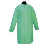 50 Batas Polipropileno SOFT Color Verde con C