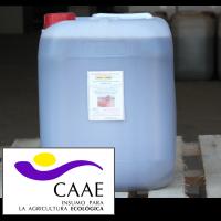 Bioestimulante Ecológico Trama y Azahar Fe-2, Abono CE. Sin Hormonas. Certificado CAAE.  Garrafa 20 Kg