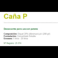 Caña P Desecante para Uso en Patata de Sipcam