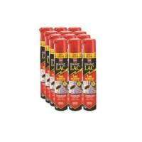 Spray Master LAC 750 Ml - Pack Ahorro 12x contra Moscas, Cucarachas, Hormigas, Arañas y Pulgas