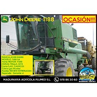 Cosechadora John Deere 1188