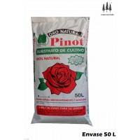 Turba Sustrato de Cultivo Humus Corteza Pino 50 L Substrato Pinot Premium