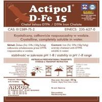 Arkop Polonia  .quelatos Dtpa Fe 15 Actipol Correctores de Carencia