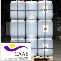 Bioestimulante Ecológico Trama y Azahar B-2, Abono CE. Sin Hormonas. Certificado CAAE Palet de 42 Garrafas X 20 Kg