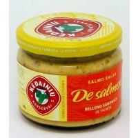 Sándwich de Salmón con Limón, el Rábano Picante y Miel