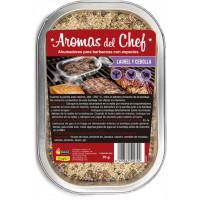 Ahumadores para Barbacoa con Laurel y Cebolla - Aromas del Chef Flower - 70 Gr