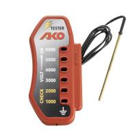 AKO Comprobador Cercados Eléctricos con Batería, 6000V