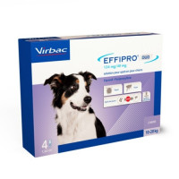 Effipro DUO SPOT ON 4 Pipetas para Perros Medianos