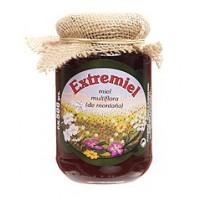 Miel Multiflora de Montaña,extrermiel,comarca de los Ibores,formato Cristal 350 Gr.