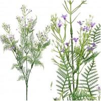 Vara Rama Flor Silvestre Artificial. Realista