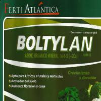 Boltylan Abono Orgánico Mineral 16-6-5. Garrafa de 30 Kilos de Fertiatlántica