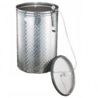 Depósito Acero Inox.  50 L con Tapadera Neumática