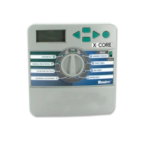 Programador de Riego Hunter X-Core .xc-801 X-E Exterior 8 Estaciones