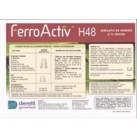 Quelato de Hierro Ecológico: Ferroactiv H48 6 % Eddha. Precio Caja 25 Kg. Consultar Precio para Palets de 250 Kg. y 500 Kg.