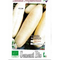 Semillas Ecológicas de Pepino Blanco - 25 Sem