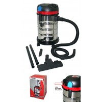 Aspirador MPT INOX 1400W 30L Polvo Liquido