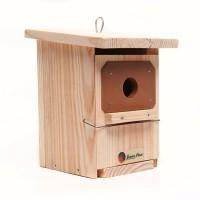 Caja Nido para Pájaros con Protección Anti Picidos