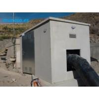 Caseta de Hormigón Prefabricado, Riego, Colectores, Hidrantes, Grupo Electrogeno, Etc