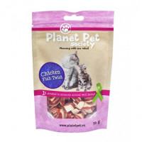 Planet Pet Gato Snack Pollo y Pescado Twist 3
