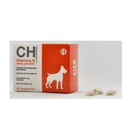 Vitamina K para Perros de Razas Grandes 60 Comprimidos