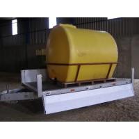 Deposito Cilindrico Horizontal 5.000 L. Polietileno Reforzado