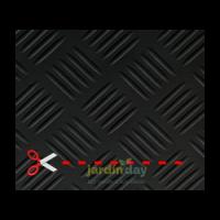 Pavimento Checker 3 MM por Metro Lineal (1 M de Ancho)