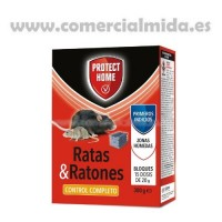 Protect Home Raticida en Bloques - 300 Gr