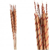 10 Unidades Reed Spadix Raffia Spiral.  Mater
