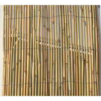 Cañizo Entero de Bambu Rollo 1X3Metro 75% de