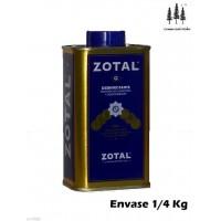 Desinfectante Recinto Vivienda Zotal 1/4 Kg Microbicida,fungicida, Desodorizante