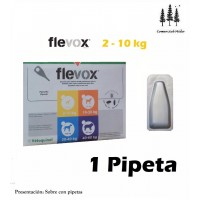 Pipeta Flevox 0,67 Ml Pulgas Garrapatas Fipro