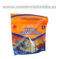 Warin'S Grano 3.0 BD – Veneno en Cereales con Bromadiolona para Matar Ratas, Ratones y Roedores - 150 Gr.