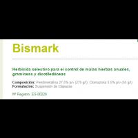 Bismark Herbicida Selectivo para el Control de Malas Hierbas Anuales de Sipcam