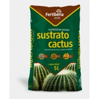 Sustrato para Cactus de Fertiberia