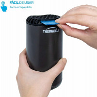 Thermacell Difusor Anti Mosquitos Exteriores, Patio y Camping Mosquiteras, Negro