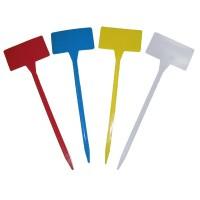 Etiqueta Pincho de Colores : Etiqueta Color - Blanca