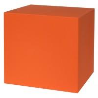 Kube de 40X40X40 Cm Color Naranja