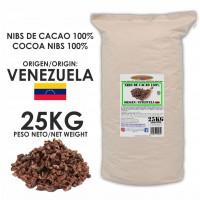 Nibs de Cacao 100% · Origen Venezuela · 25kg
