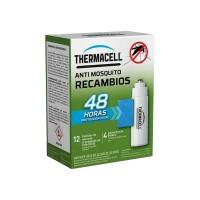 Pack Recarga Thermacell Anti Mosquitos (12 Pastillas Repelentes y 4 Cartucho Butano)
