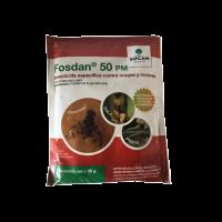 Sipcam Jardín sobre Fosdan 50, Insecticida Orugas, Moscas y Picudo, sobre 35 Gr.
