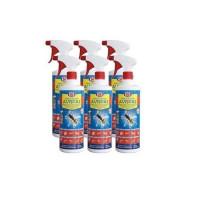 Spray Insecticida Tanzil 1L contra Insectos Voladores y Rastreros - Pack Ahorro 6 Unidades