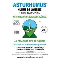 Humus de Lombriz Asturhumus Ecológico