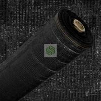 Malla de Sombreo 80-85% Ocultacion 1,5 MT Negro Rollo de 100 Mt