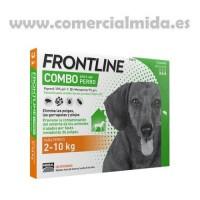 Pipetas Frontline® Combo Perros (2 a 10 Kg) c