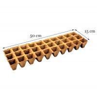 Maceta Semillero Biodegradable de Turba. 30 A