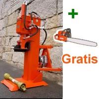 Rajadora de Leña 20 Ton Vertical Tractor + Mosierra Gratis