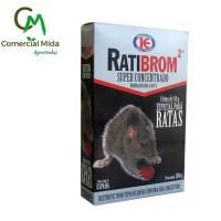 Ratibrom 2 1Kg - Cebo Fresco Súper Concentrado Veneno contra Ratas y Ratones
