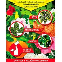 sobre Fungicida Cobre. para Roya, Antracnosis, Mildiu,